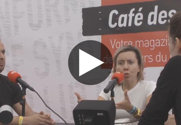 LIVE : suivez en direct la deuxième journée de débats au Café des luttes de la Fête de l'Humanité