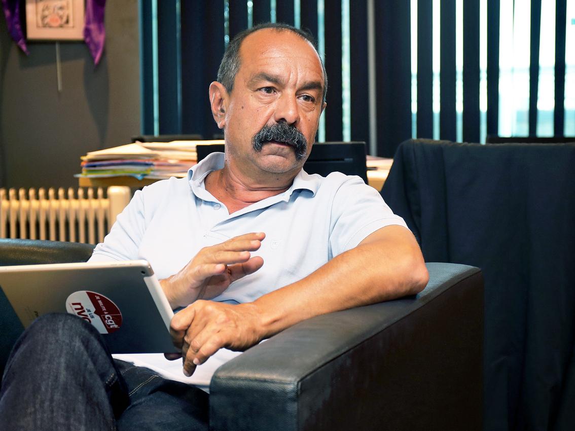 Interview exclusive de Philippe Martinez : avec le coronavirus, pas de confinement pour le social