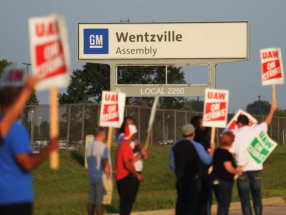 General Motors : la grève générale met le constructeur au point mort