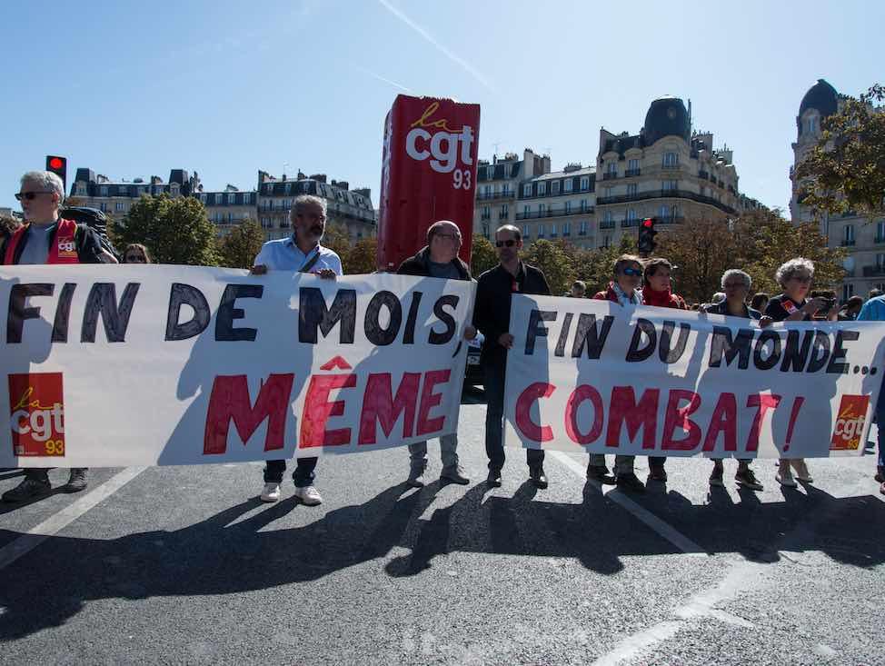 24 septembre : nouvelle étape unitaire pour les urgences sociales et climatiques